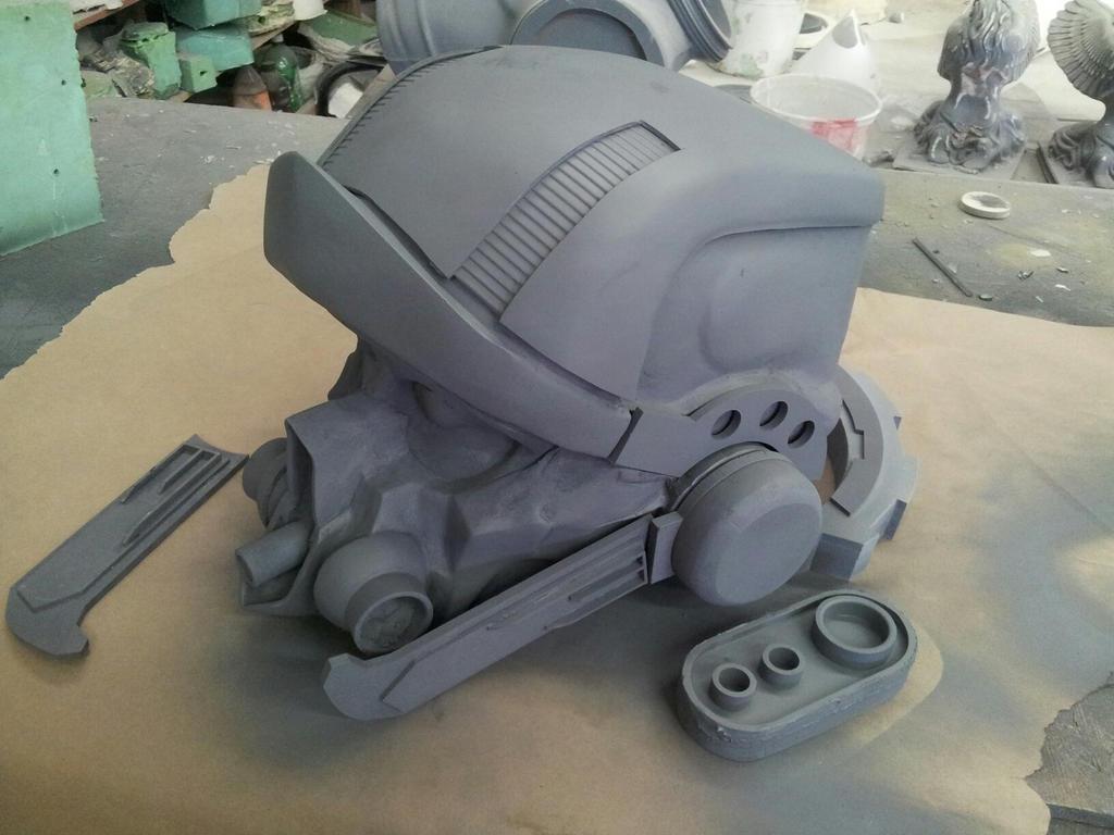 Radec Helmet WIP by XizerTheGrey