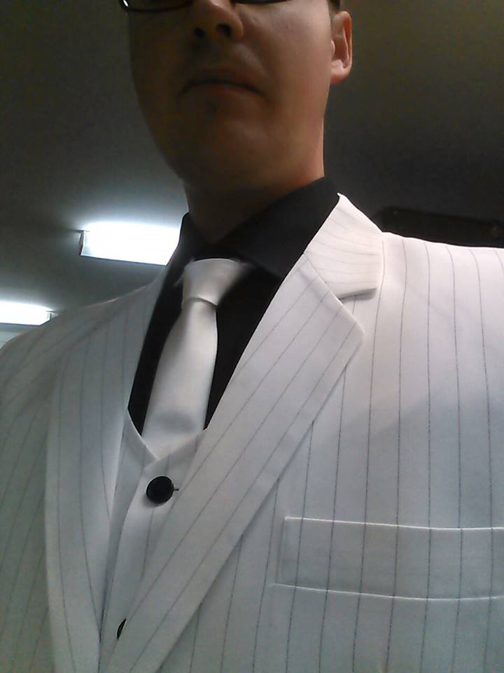Black Mask Arkham Origins suit WIP by XizerTheGrey