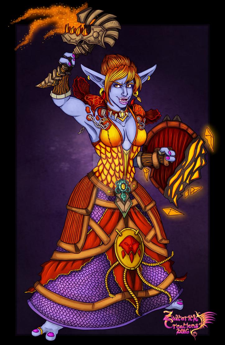 Elemental Shaman Turantulah by ZulterithCreations