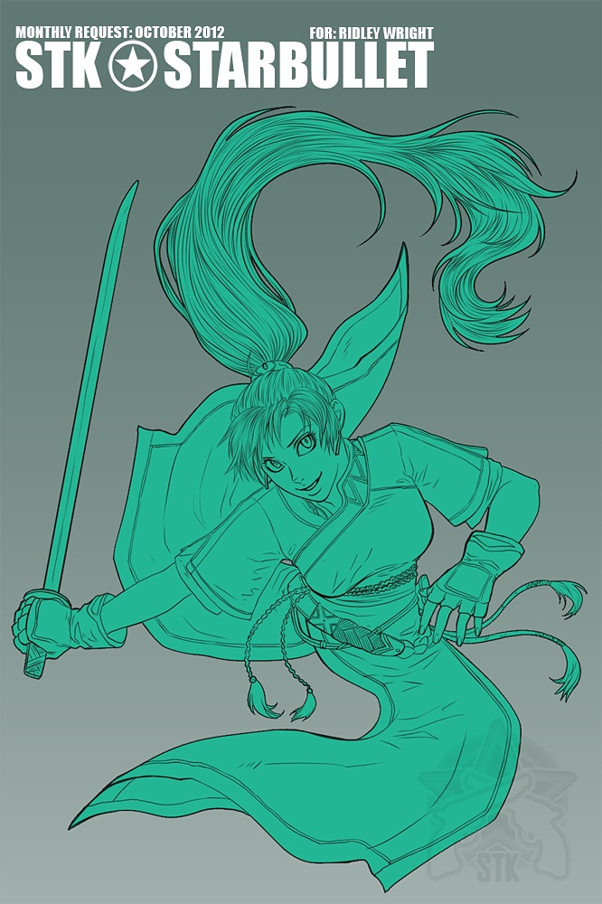 Fire Emblem Lyn -Monthly Request: October 2012 by starduo