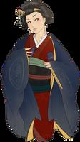 Commission for Kuni-boogiepop: Yasuki Noa by starduo