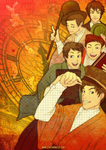 JAPANESE EMBASSY UK: Choshu Five by starduo