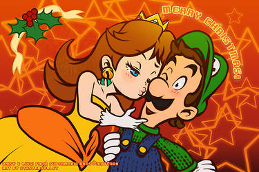 A Super Luigi and Daisy Xmas