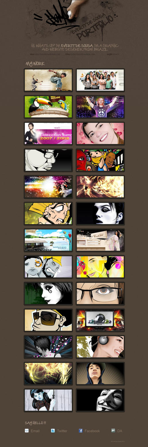 Portfolio v2.a by TurokFreak