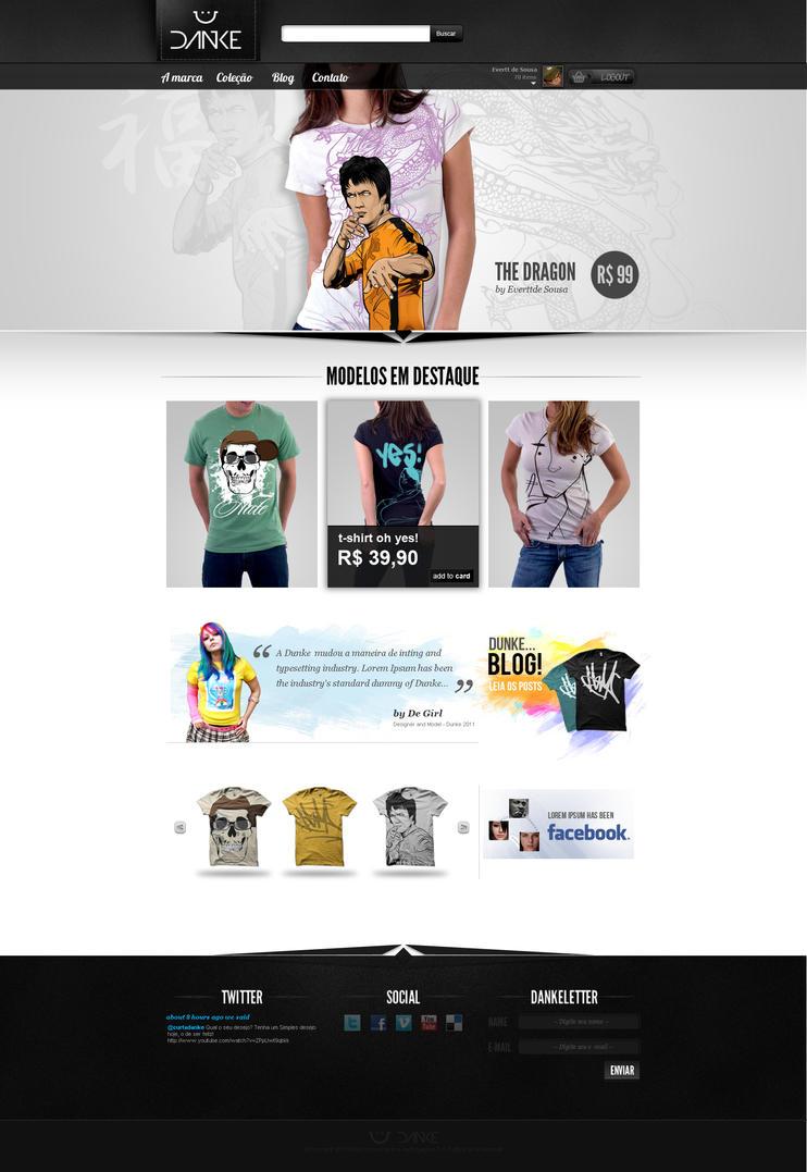 DANKE T-Shirts by TurokFreak