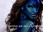 Rihanna as an avatar by DanielRocket999