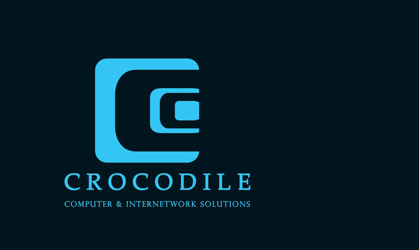 Crocodile new logo by emaccar