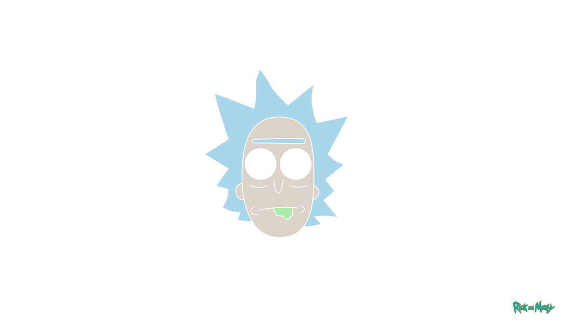 rick sanchez minimalist paper rick and morty by maxilent on deviantart