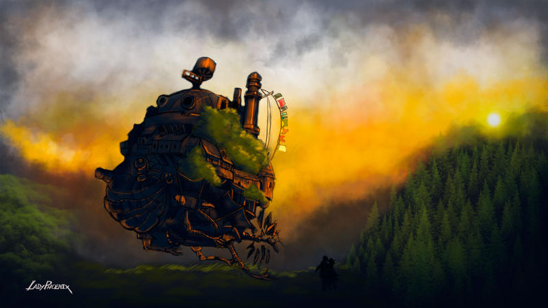 Howl's Moving Castle - #3/360 by ladyphoenixskull