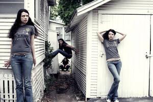 Rachels in an Alleyway
