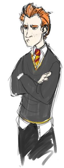 Ron Weasley by aspera