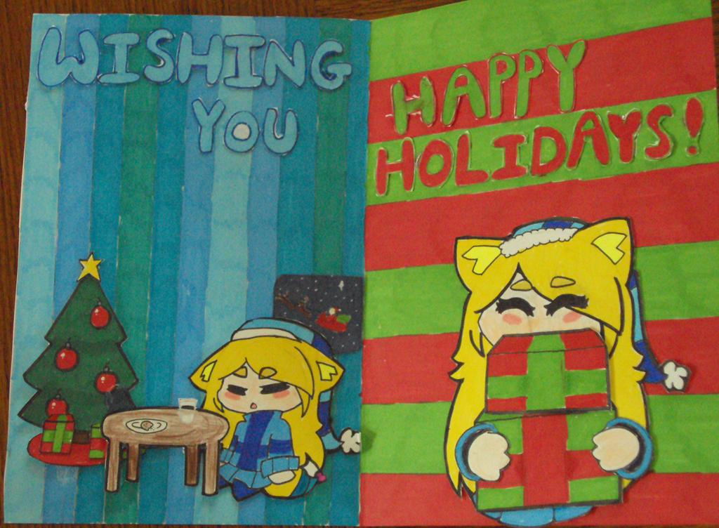 Happy Holidays! by BadEevee
