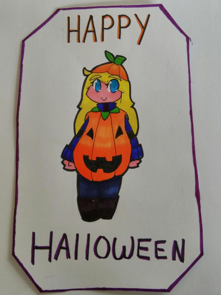 Happy Halloween! by BadEevee