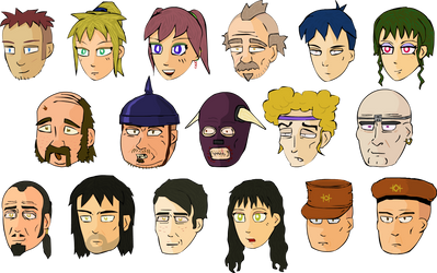 World's End Character Art (2006)
