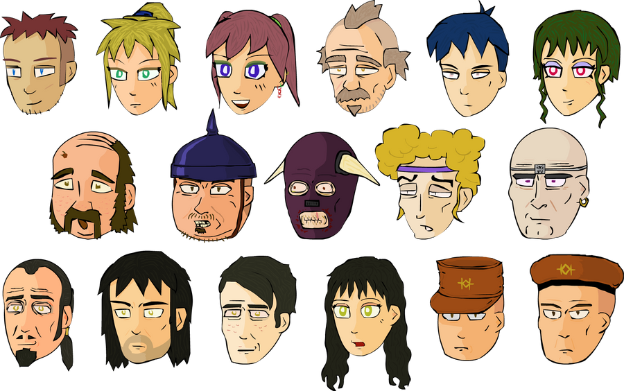 World's End Character Art (2006) by MezzanineStairs