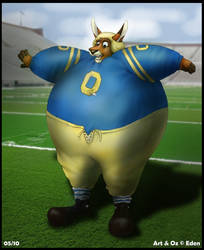 Flubber Gas Football Suit