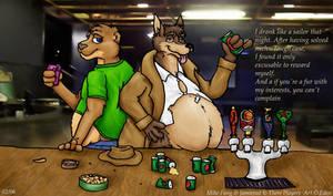 Beer Bloat by ozkangaroo