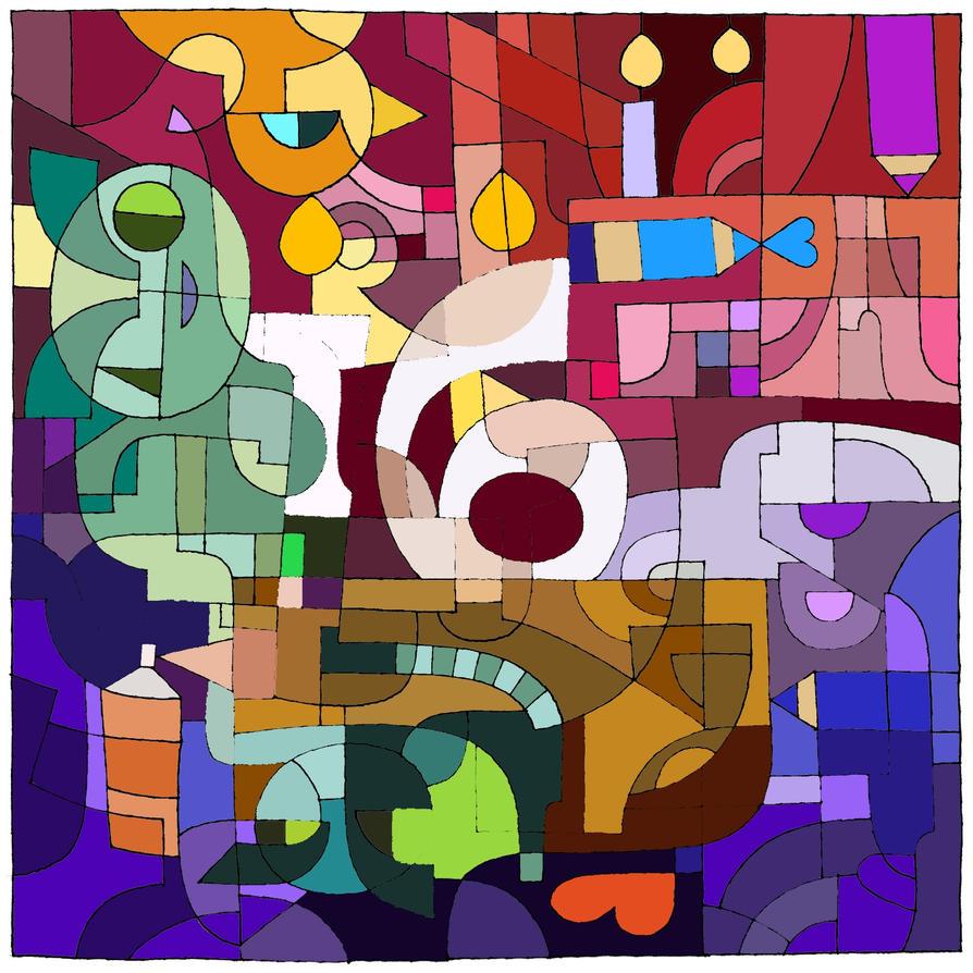 DA annivesary coloring by LariaReve
