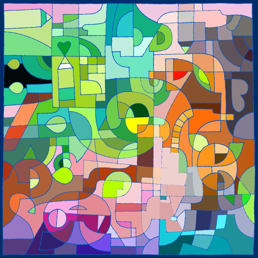 DA aniversary coloring 2 by LariaReve