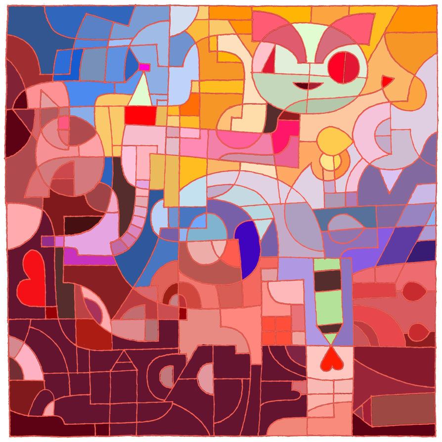DA anniversary coloring 3 by LariaReve