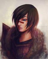 Dragon Age 2: The Champion by adaneko