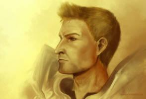 Dragon Age: Alistair by adaneko