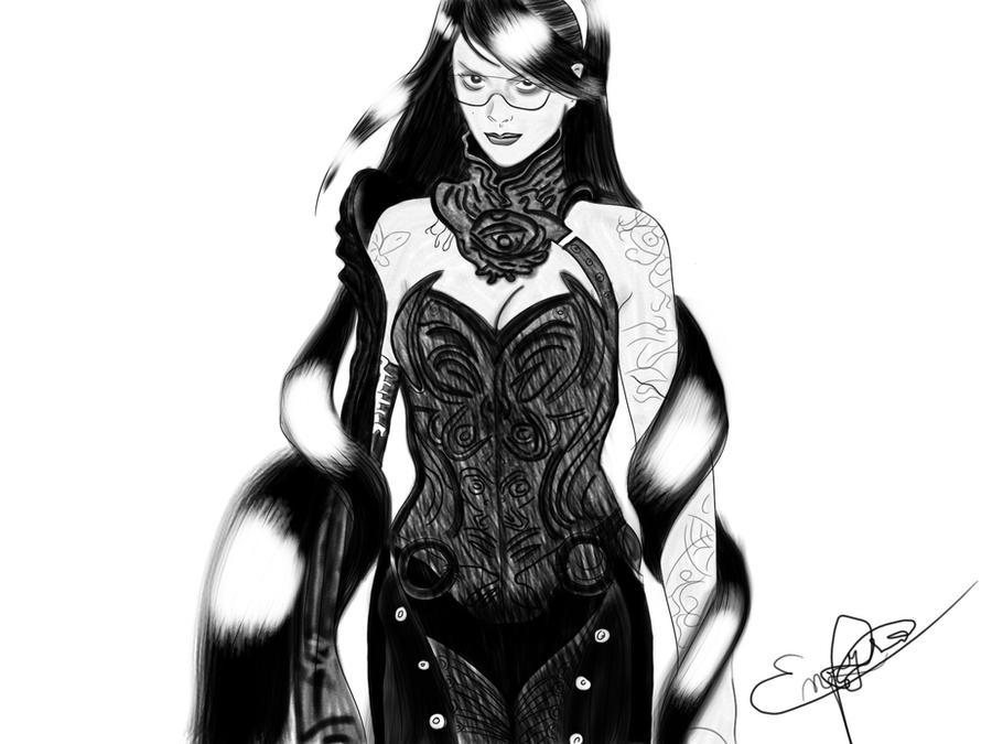 Bayonetta by enryson