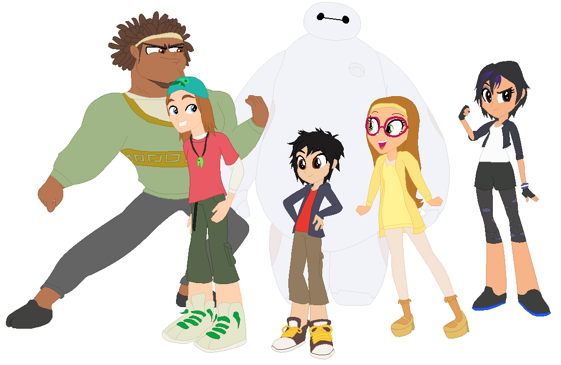 Honey Lemon Big Hero 6 Rapunzel Big Hero 6 in EG style...