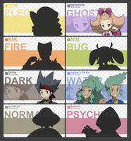GYM LEADER ID'S by FakemonPlanet