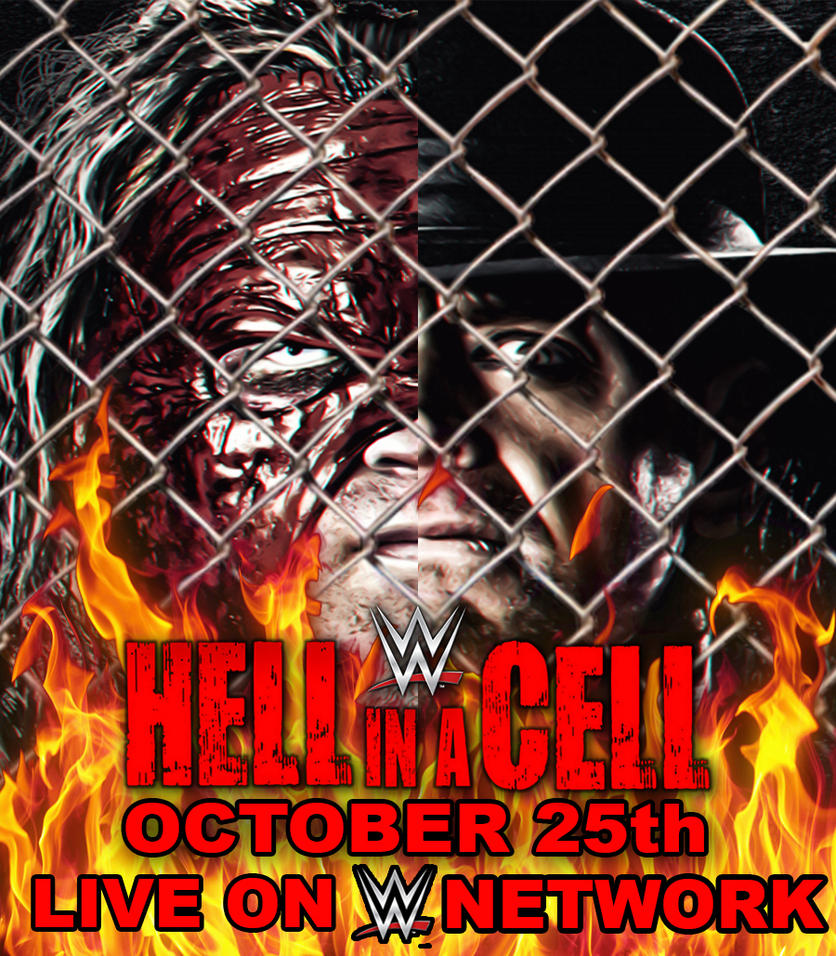 WWE Hell in a Cell 2015 Custom Poster by ThePowerHouseHD