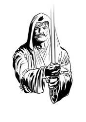 Luke Skywalker, Jedi Master by JsmNox