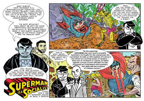 Superman is a Socialist! Page 1