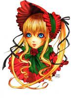 Rozen Maiden - Shinku by PlatinumLynx