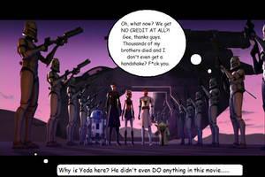 No credit... and Yoda? by kakashislover789
