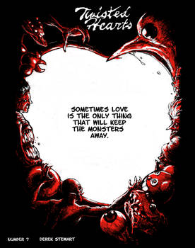 Twisted Hearts number 7