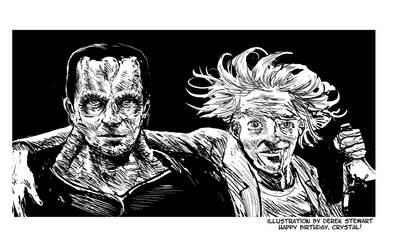 Rick and Gul Dukat are homies...