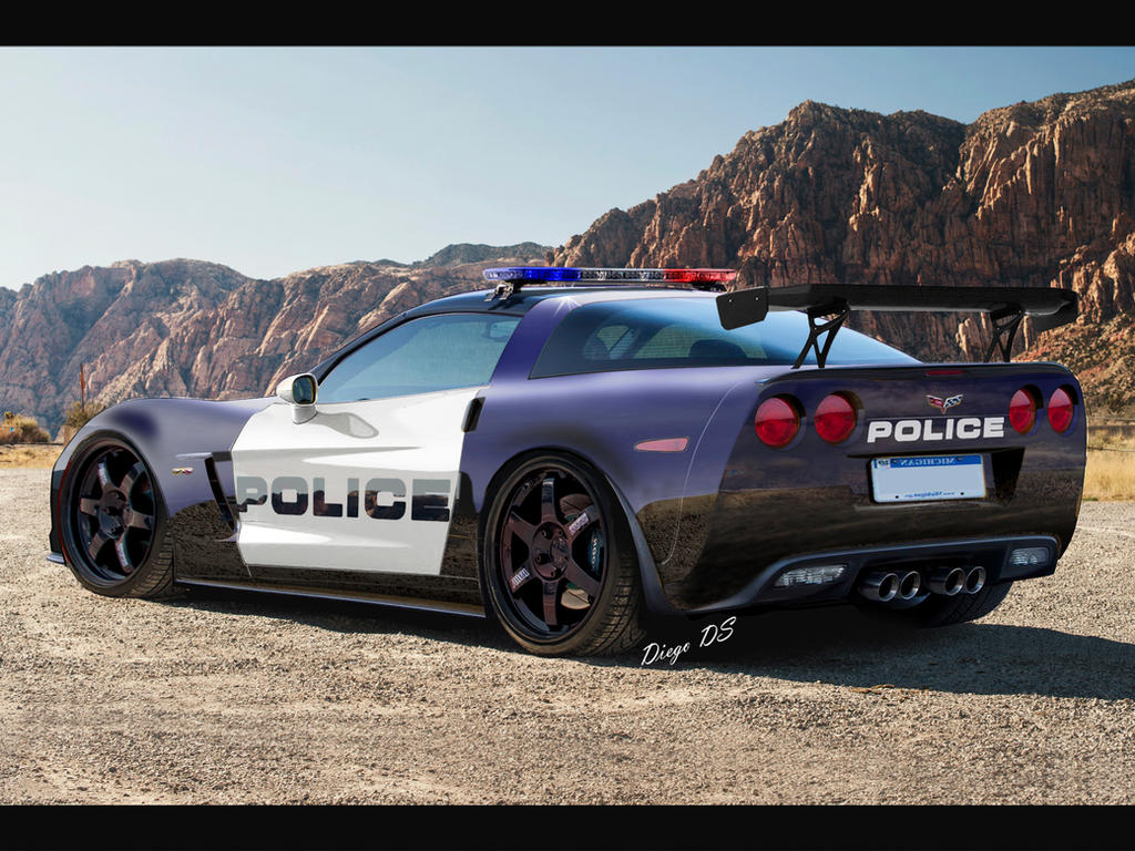2013 chevrolet corvette c6 z06 police car dkds by dkds on. Black Bedroom Furniture Sets. Home Design Ideas