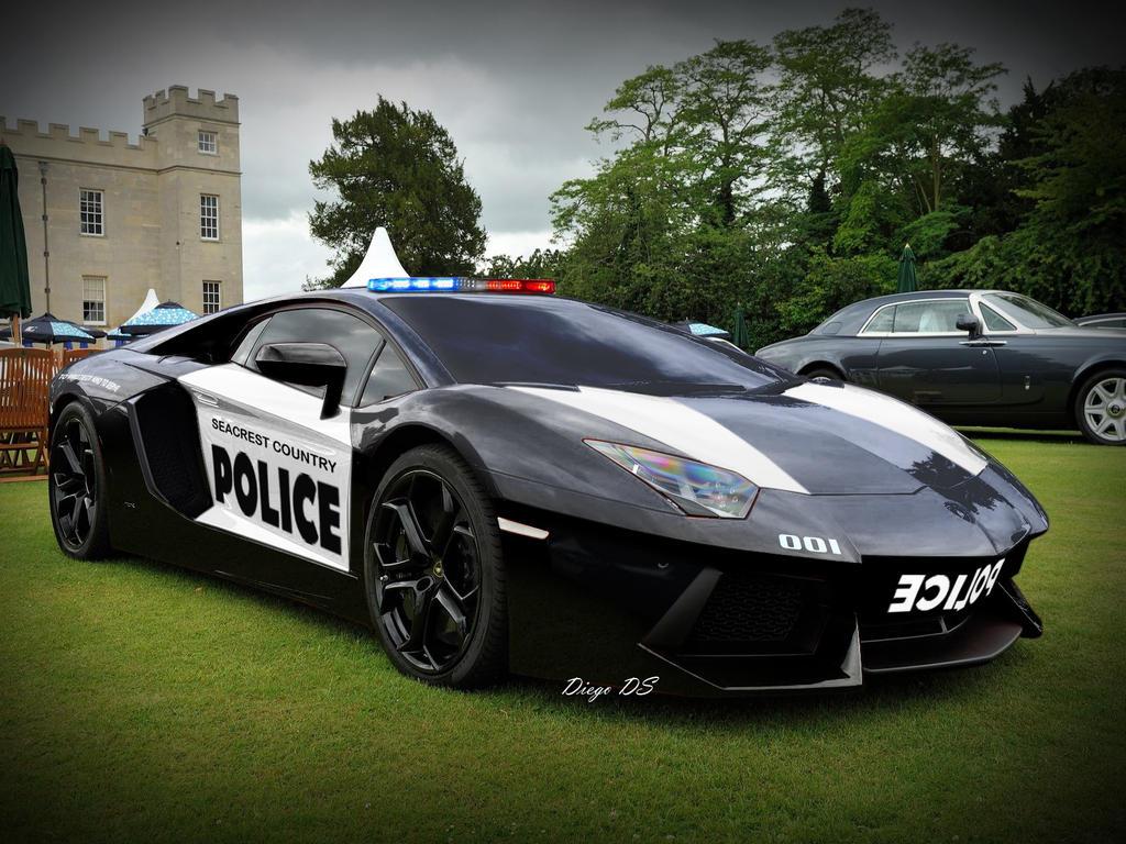 Lamborghini Aventador Police Car By Dkds On Deviantart