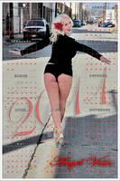 2011 Calendars Angel Vain by industrybyrick