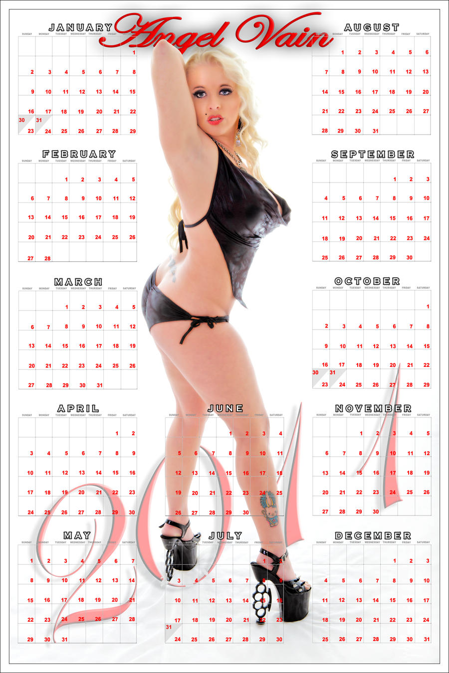 2011 calendars bobbi starr by rickkk d376equ Specializing in Japanese gay