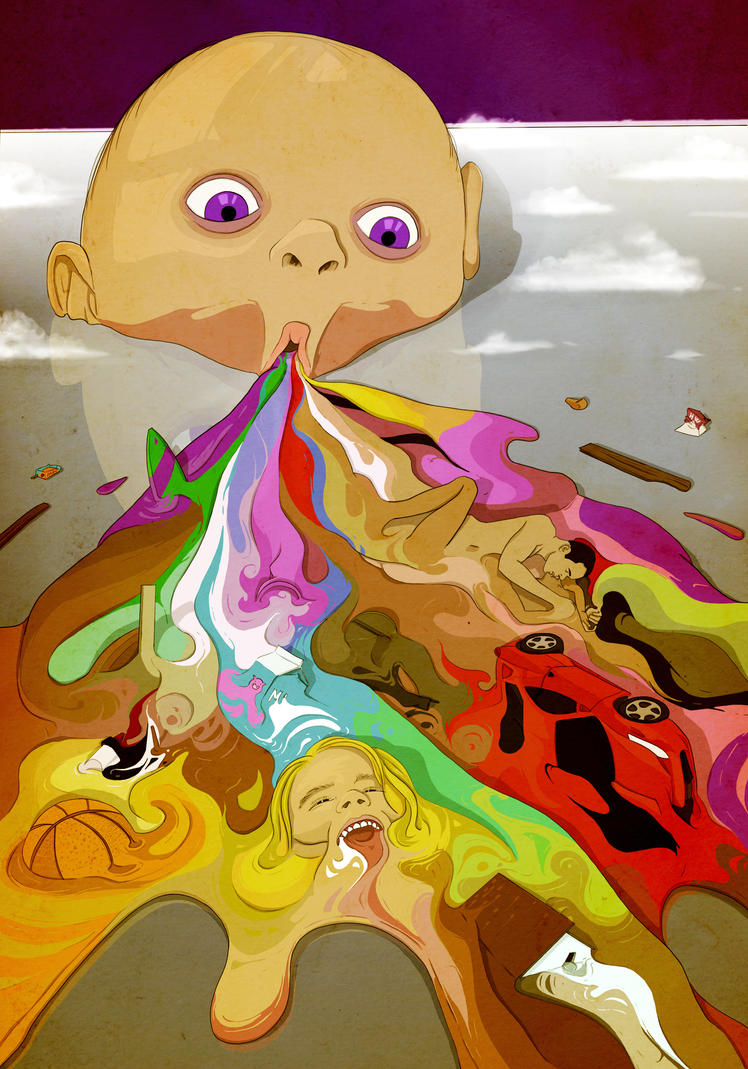 Childhood traumas drain colours from your life by colorcaust