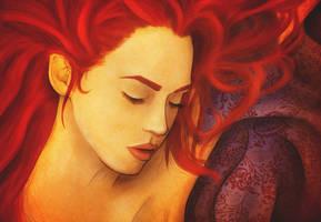 Sleeping Dragon by colorcaust