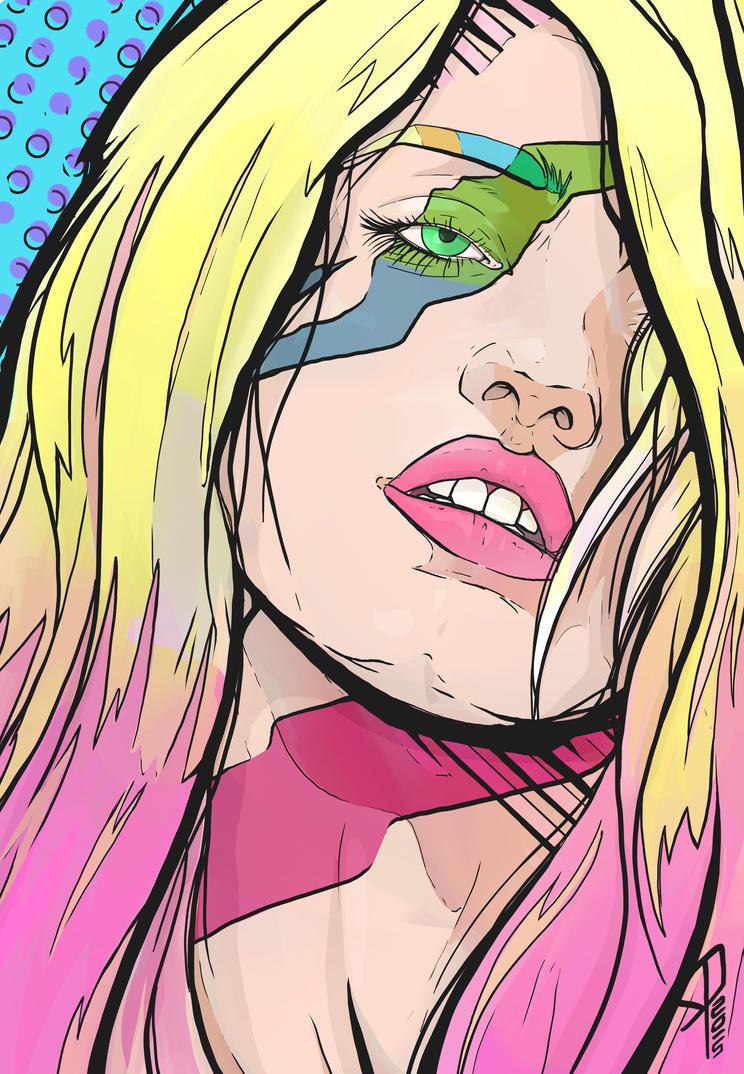 blonde bubbles by colorcaust