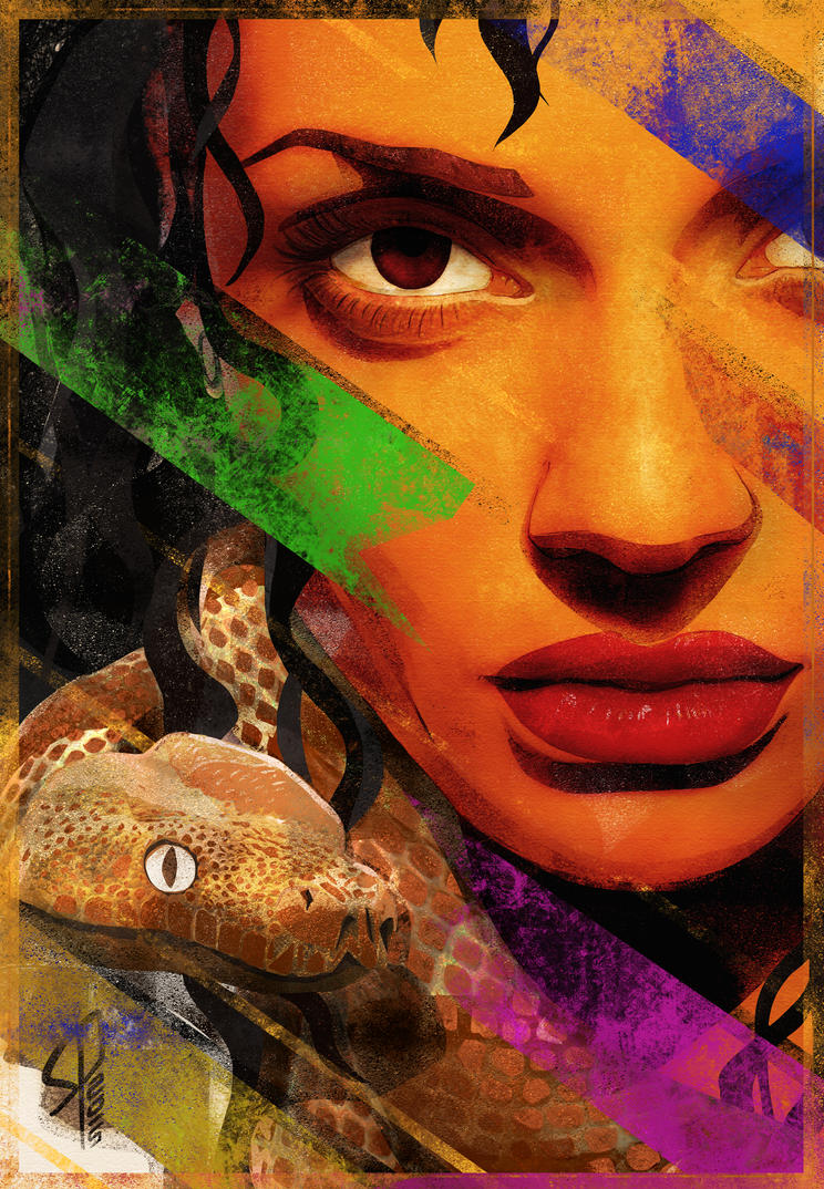 She - Portrait by colorcaust