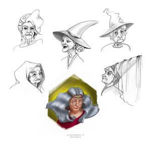 Witches Sketchlist