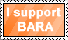 I Support Bara by Ryuuseinow
