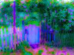 Fairy Gate in Bloom 01 WIP by KittenDiotima