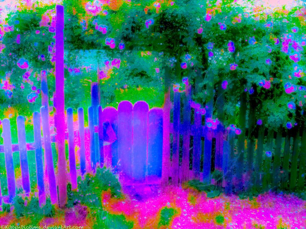 Fairygate in Bloom 01 by KittenDiotima