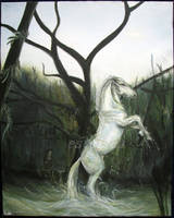 Kelpie - white by estellea