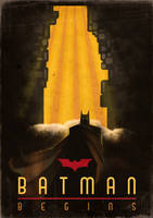 Batman Begins - Art Deco by I274